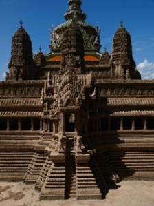 Model of Angkor Wat Complex at Grand Palace, Bangkok