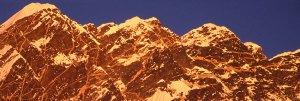 Sunset on Annapurna Sanctuary Trail