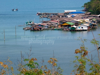 Fishing village and pier, Koh Kood, Thailand