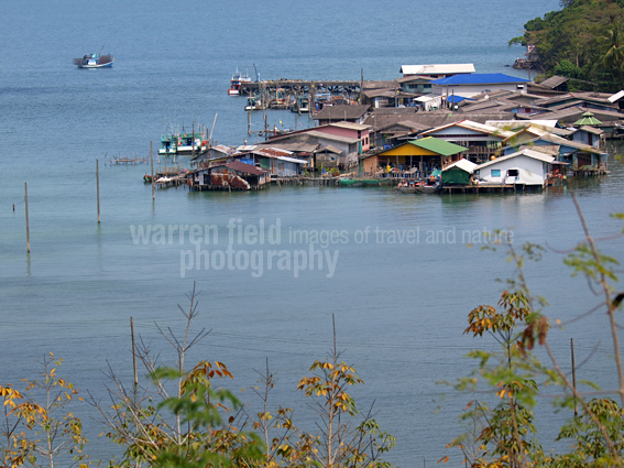 Fishing village and pier, Koh Kood, Thailand