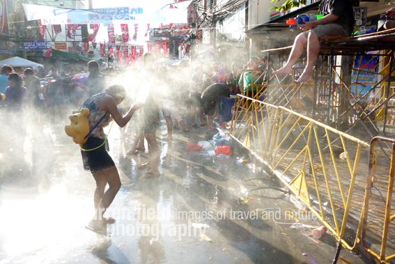 Khao San Road in full swing.