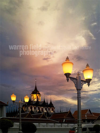 Loha Prasat temple, Bangkok, Thailand