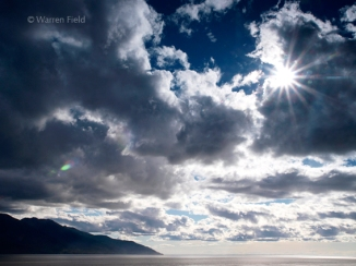 Turnagain Arm off the Cook Inlet, Alaska