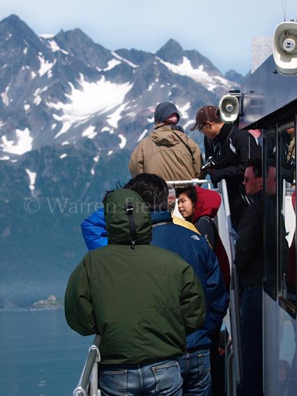 Location 4: Closing in on the Aialik Glacier